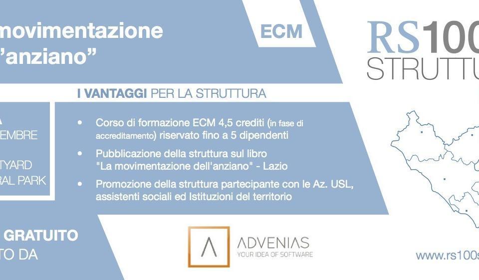 RS100 strutture Lazio invito Advenias